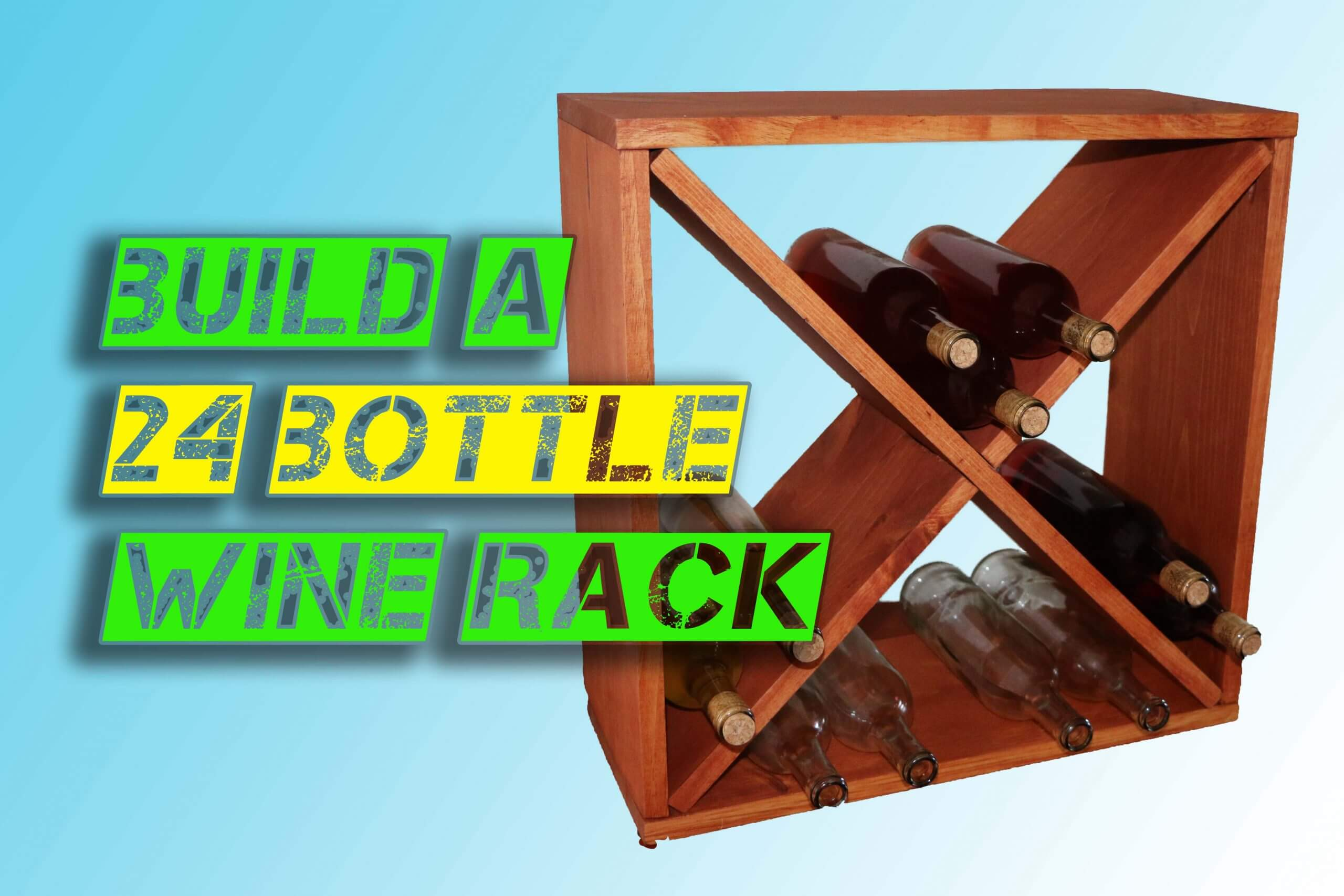 How To Make A Wine Rack Storage Cube Jeff S Diy Projects